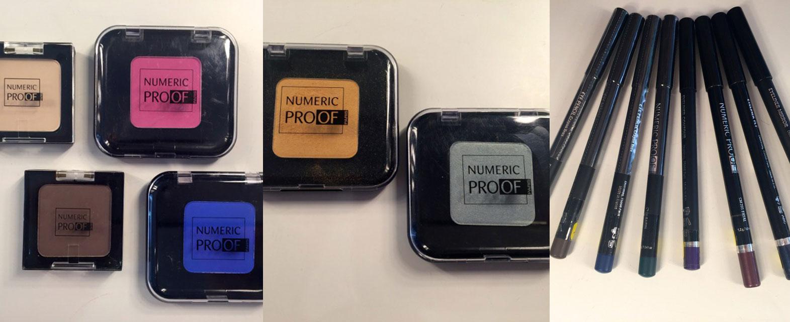 Numeric Proof-Lidschatten und Eyeliner