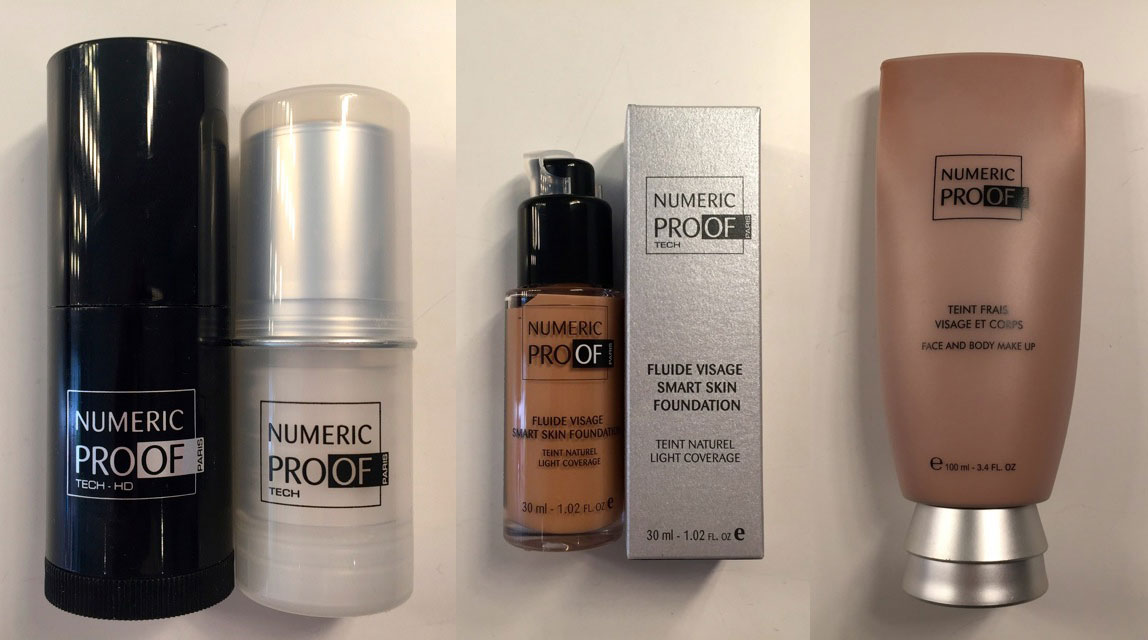 Numeric Proof Make-up